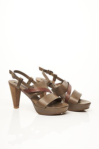 Sandales/Nu pieds gris ALBERTO FERMANI pour femme