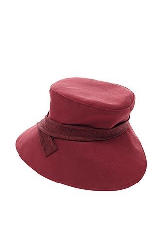 Chapeau rouge ELISSA pour femme
