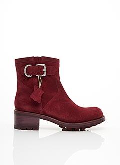 Bottines/Boots rouge FREE LANCE pour femme