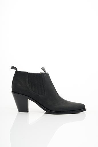 Bottines/Boots gris FREE LANCE pour femme