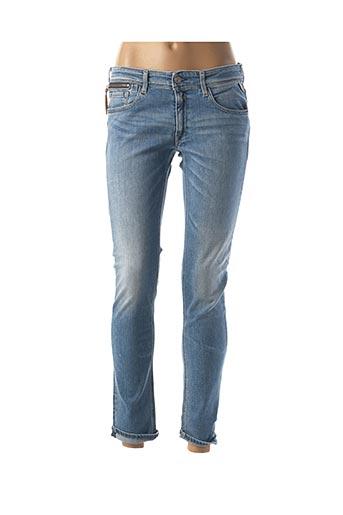 Jeans skinny bleu REPLAY pour femme