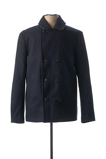 Manteau court bleu PREMIUM DE JACK AND JONES pour homme