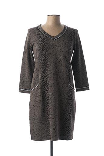 Robe courte gris CHATELET pour femme