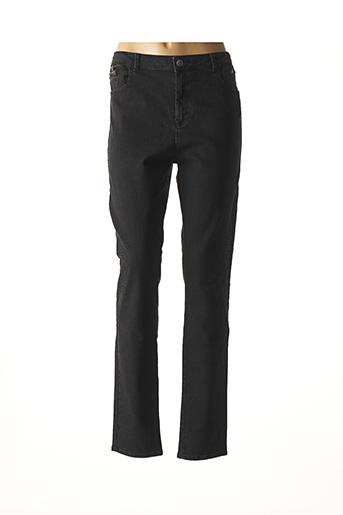 Jeans coupe slim noir KANOPE pour femme