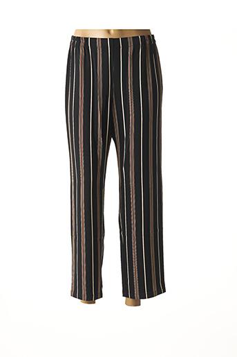 Pantalon casual noir TELMAIL pour femme