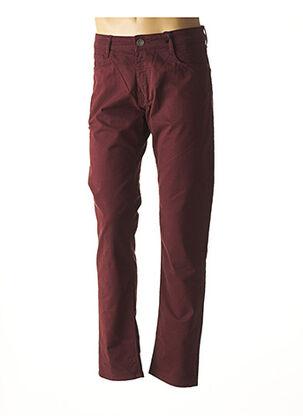 Pantalon casual rouge REDMAN pour homme