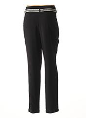 Pantalon casual noir MAE MAHE pour femme seconde vue
