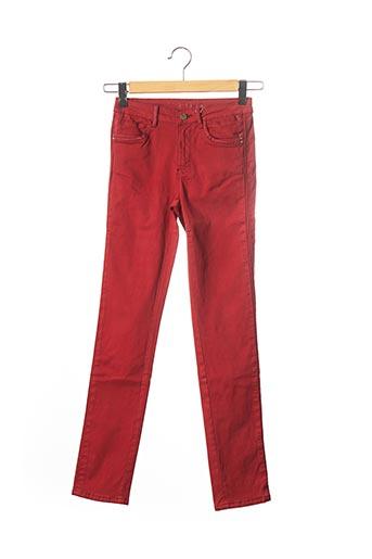Pantalon casual orange C'EST BEAU LA VIE pour femme