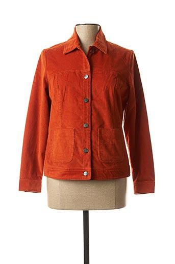 Veste casual orange LA FIANCEE DU MEKONG pour femme
