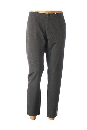 Pantalon 7/8 gris KANOPE pour femme