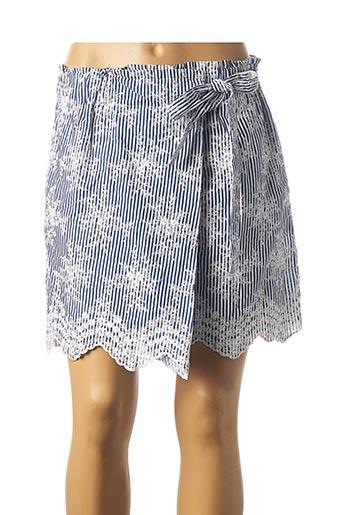 Jupe short bleu MOLLY BRACKEN pour femme