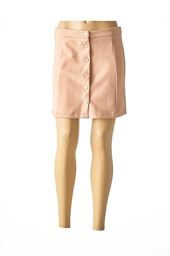 Jupe courte rose IMUA pour femme