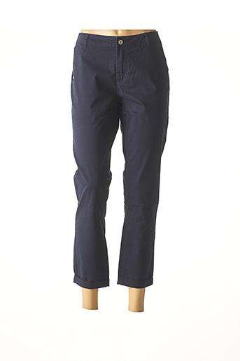 Pantalon 7/8 bleu IMUA pour femme