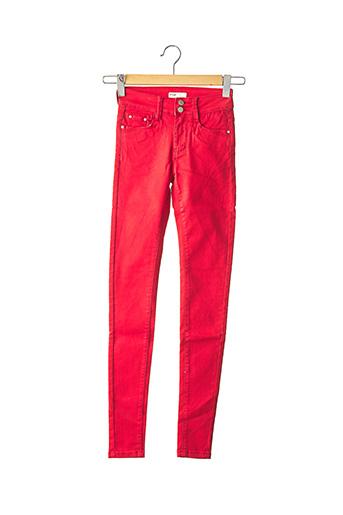 Pantalon casual rouge IMUA pour femme