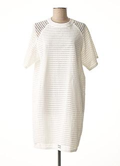 Robe mi-longue blanc PAUL SMITH pour femme