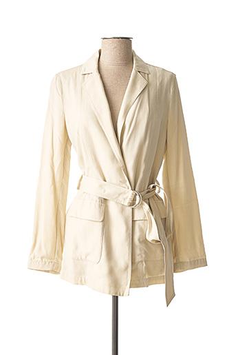 Veste casual beige ARMANI pour femme