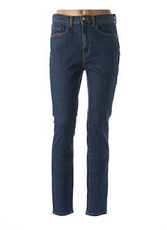 Jeans coupe slim bleu DES PETITS HAUTS pour femme