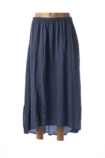 Jupe longue bleu AMERICAN VINTAGE pour femme