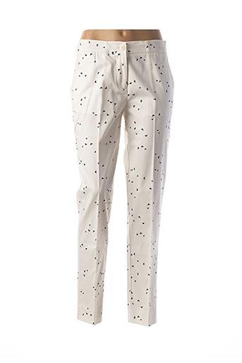 Pantalon chic blanc ARMANI pour femme