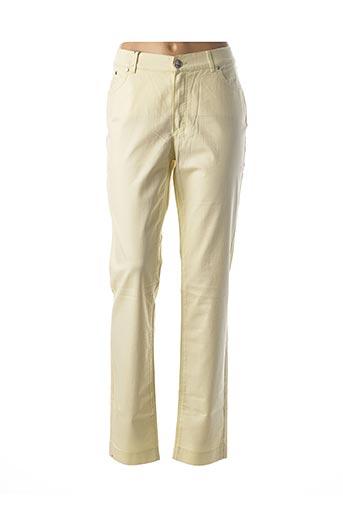Pantalon casual vert DISMERO pour femme