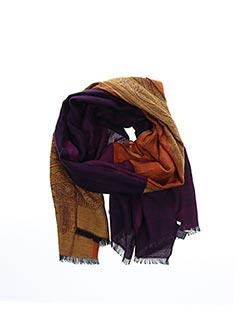 Foulard violet PAUL SMITH pour femme