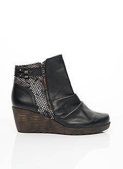 Bottines/Boots noir GEO-REINO pour femme