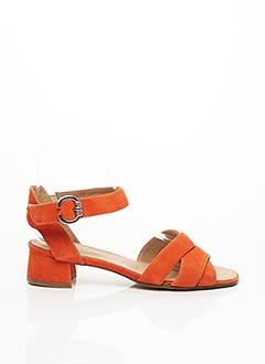 Tongs orange GEO-REINO pour femme