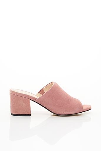 Mules/Sabots rose BIANCO. pour femme