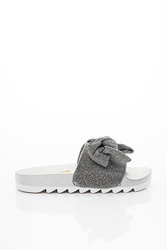 Mules/Sabots gris COLORS OF CALIFORNIA pour femme
