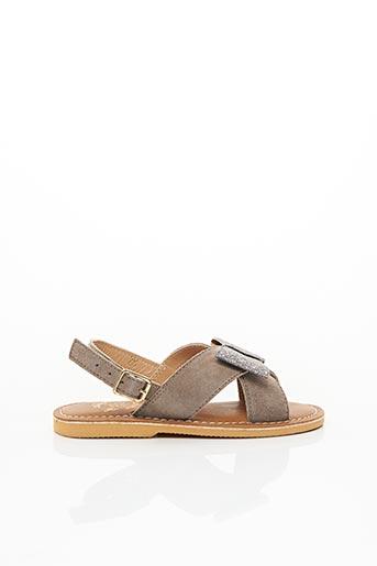 Sandales/Nu pieds beige COLORS OF CALIFORNIA pour fille