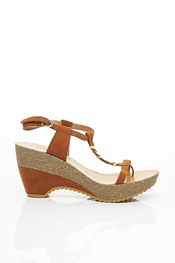 Sandales/Nu pieds marron LES P'TITES BOMBES pour femme