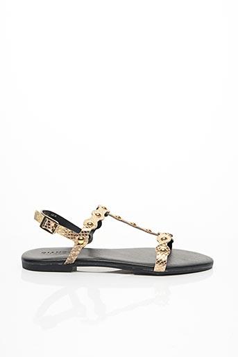 Sandales/Nu pieds beige BIANCO. pour femme