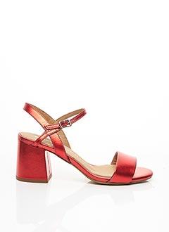 Sandales/Nu pieds rouge BRONX pour femme