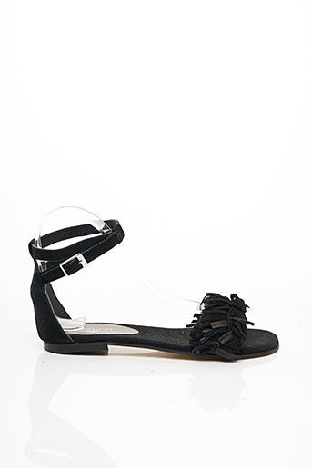 Sandales/Nu pieds noir ELIZABETH STUART pour femme