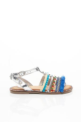 Sandales/Nu pieds bleu GIOSEPPO KIDS pour fille