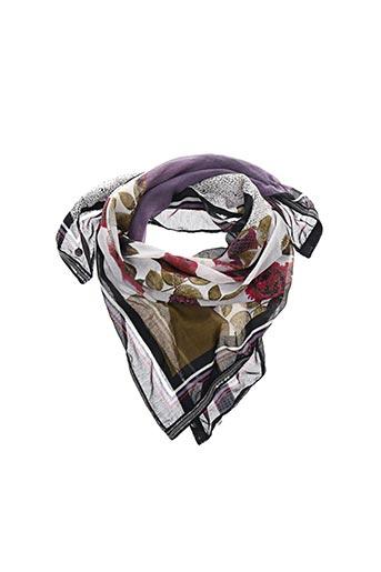 Foulard violet GARCIA pour femme