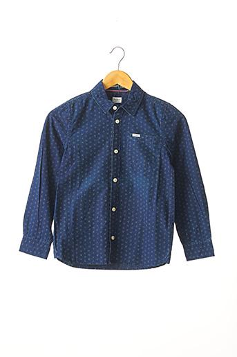 Chemise manches longues bleu PEPE JEANS pour garçon