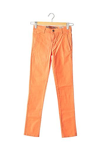 Pantalon casual orange GARCIA pour garçon