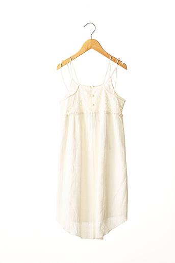 Robe courte blanc LE TEMPS DES CERISES pour fille