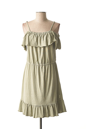 Robe mi-longue vert GARCIA pour fille