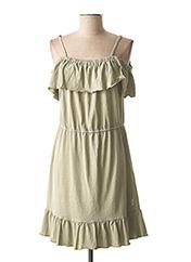 Robe mi-longue vert GARCIA pour fille seconde vue