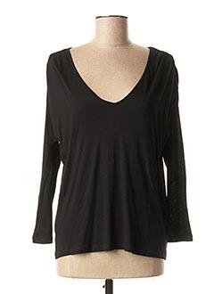 T-shirt manches longues noir HARRIS WILSON pour femme