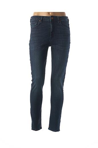 Jeans skinny bleu MAISON SCOTCH pour femme