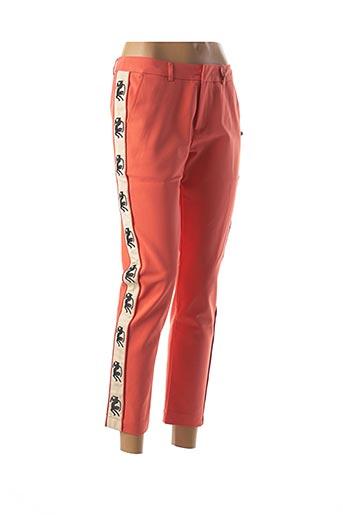 Pantalon 7/8 orange MAISON SCOTCH pour femme