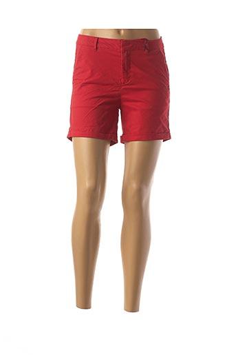 Short rouge MAISON SCOTCH pour femme