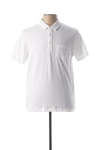 Polo manches courtes blanc HARRIS WILSON pour homme