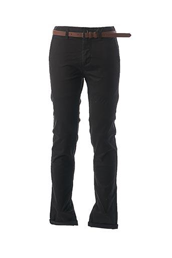 Pantalon casual noir DSTREZZED pour homme