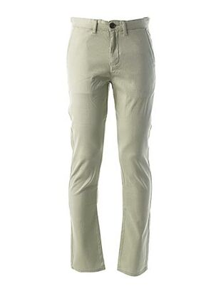 Pantalon casual vert PEARLY KING pour homme