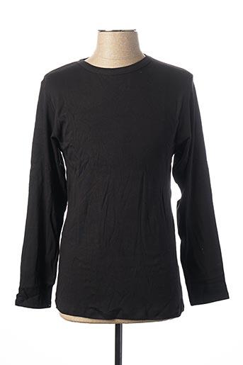 T-shirt manches longues noir CHRISTIAN LACROIX pour homme