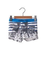 Short de bain bleu LULUCASTAGNETTE pour garçon seconde vue